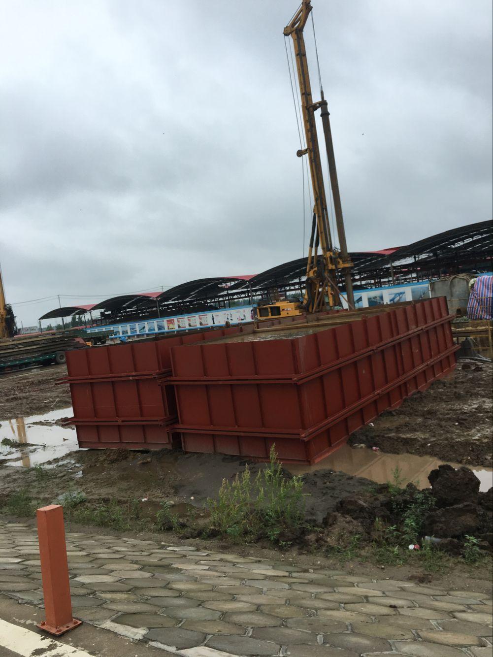 青山桥泥浆池项目