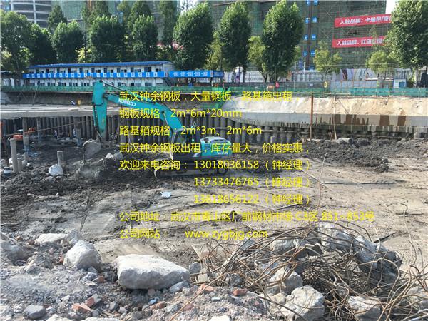 青山工地出土护路项目