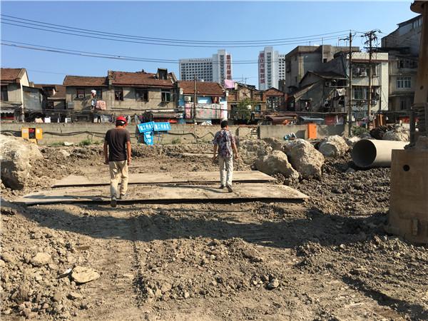 汉正街出土护路项目2